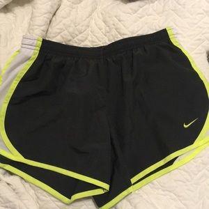 Nike DriFit Shorts (girls large size, adult small)